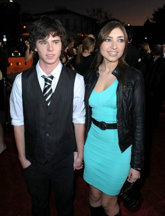 "Charlie McDermott and Shelby Young at ""The Twilight Saga: New Moon"" premiere in November 2009"