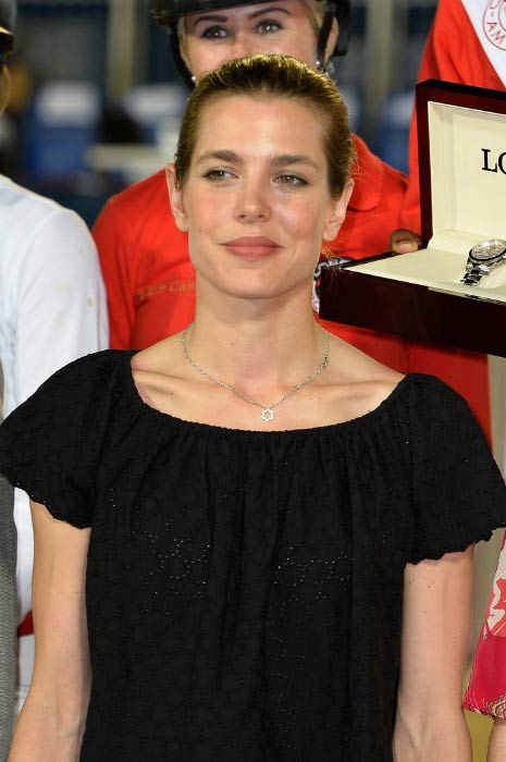 Charlotte Casiraghi at the Longines Pro Am Cup Monaco event in June 2015