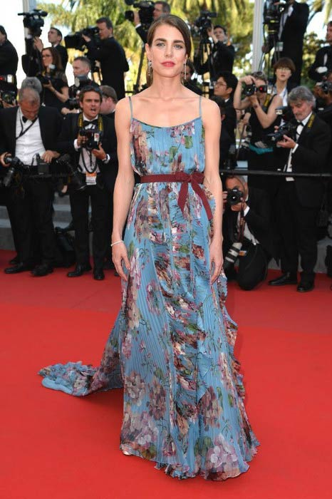 Charlotte Casiraghi at the Rocco and His Brothers Restoration premiere in May 2015
