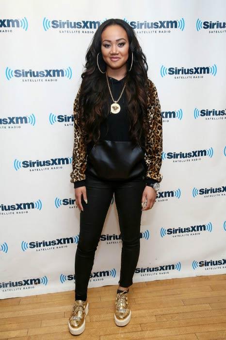 Cymphonique Miller during her visit to SiriusXM Studios in June 2013