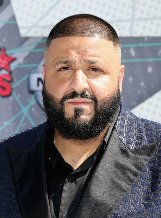 DJ Khaled at the BET Awards 2016