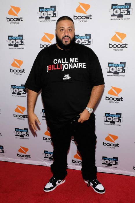 DJ Khaled at the Power 105.1's Powerhouse in October 2016