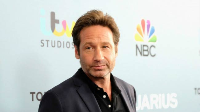 "David Duchovny at the NBC's ""Aquarius"" Season 2 premiere in June 2016"
