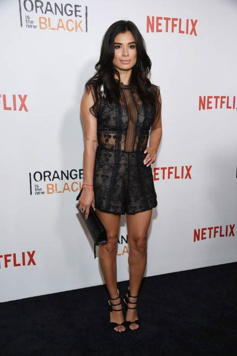 "Diane Guerrero at the ""Orange is the New Black"" premiere in June 2016"