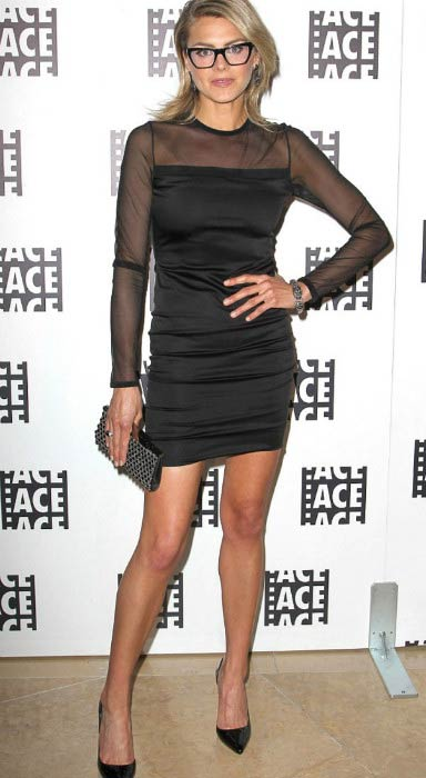 Eliza Coupe at the ACE Eddie Awards in Los Angeles in February 2013