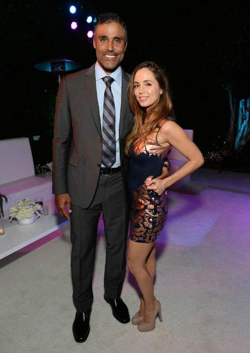 Eliza Dushku and Rick Fox at the 87th birthday celebration of Tony Bennett and the charity organization fundraiser in August 2013