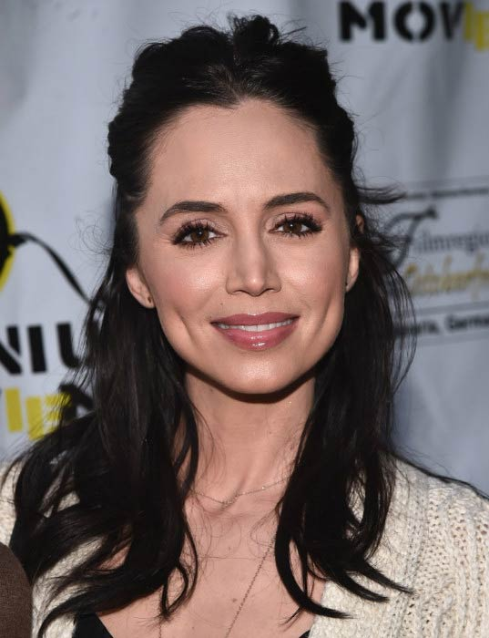 "Eliza Dushku at ""The Man Who Saved The World"" premiere in April 2016"