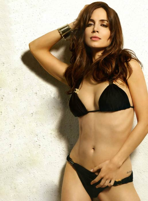 Eliza Dushku in bikini poses for the James White photoshoot
