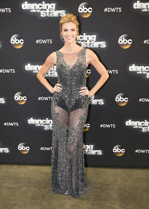 Erin Andrews at 'Dancing with the Stars' finale