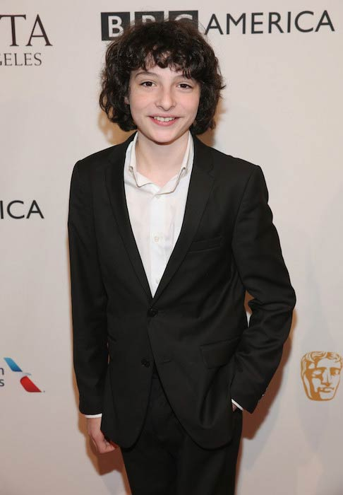 Finn Wolfhard at The BAFTA Tea Party in January 2017