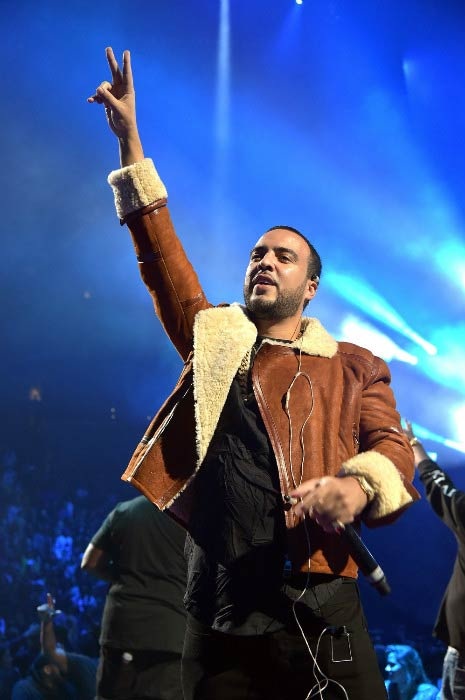 French Montana performing during TIDAL X: 1020 Amplified by HTC in October 2015