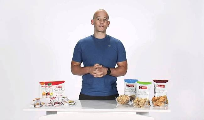 Harley Pasternak with his food supplements