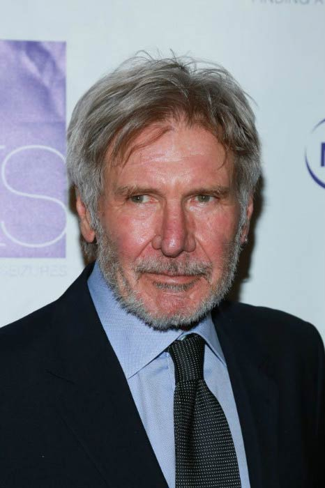 Harrison Ford at the FACES Gala in March 2016