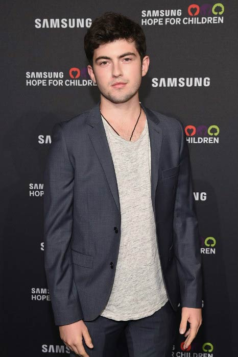 Ian Nelson at the Samsung Hope for Children Gala in September 2015