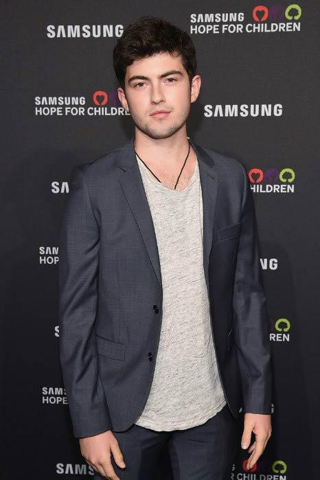 Ian Nelson at the Samsung Hope for Children Gala in September 2015