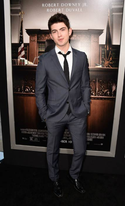 Ian Nelson at The Judge premiere in October 2014