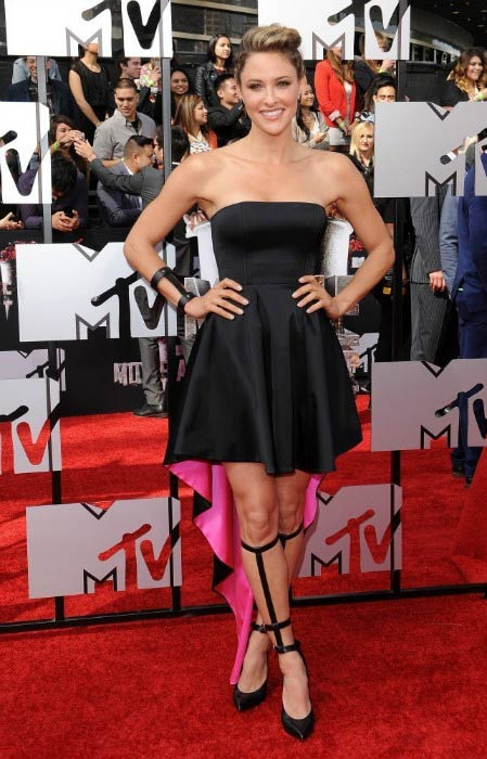 Jill Wagner at the MTV Movie Awards 2014