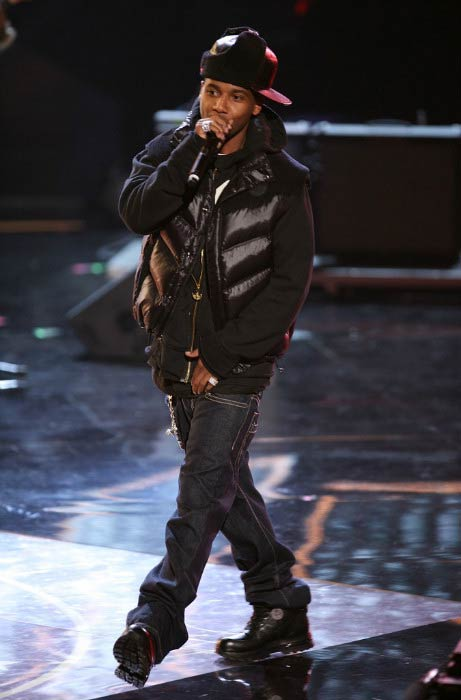 Juelz Santana performing onstage during Vh1 Hip Hop Honors in October 2008