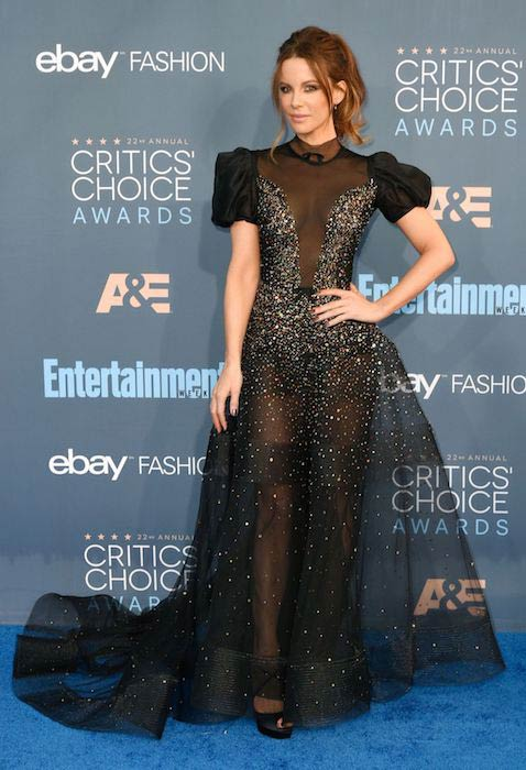 Kate Beckinsale at 2016 Critics' Choice Awards in Santa Monica