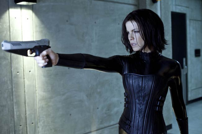 "Kate Beckinsale in a still from ""Underworld"""