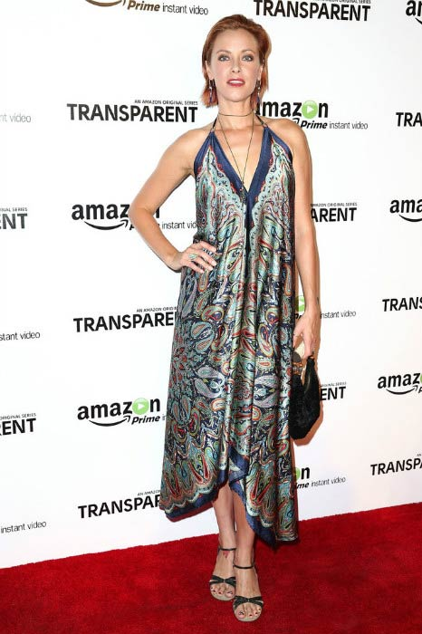 Kristanna Loken at the Amazon's Transparent premiere in September 2014