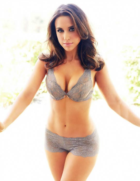 Lacey Chabert poses for Maxim magazine photoshoot in 2014