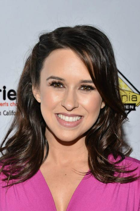 Lacey Chabert at the Milk + Bookies' 7th Annual Story Time Celebration in April 2016