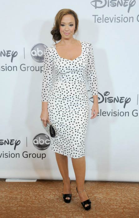 Leah Remini at the TCA Summer Press Tour of Disney ABC Television Group in July 2012