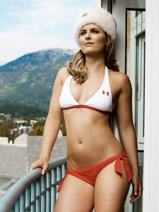 Lindsey Vonn in Sports Illustrated's Swimsuit photoshoot in 2015