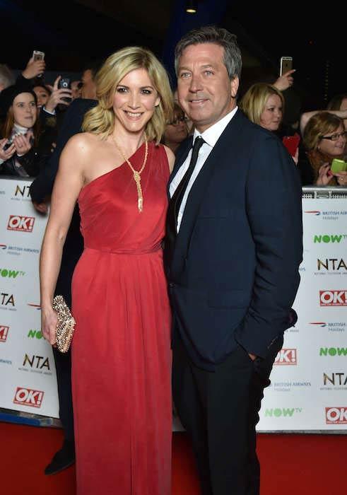 Lisa Faulkner and John Torode at National Television Awards 2016