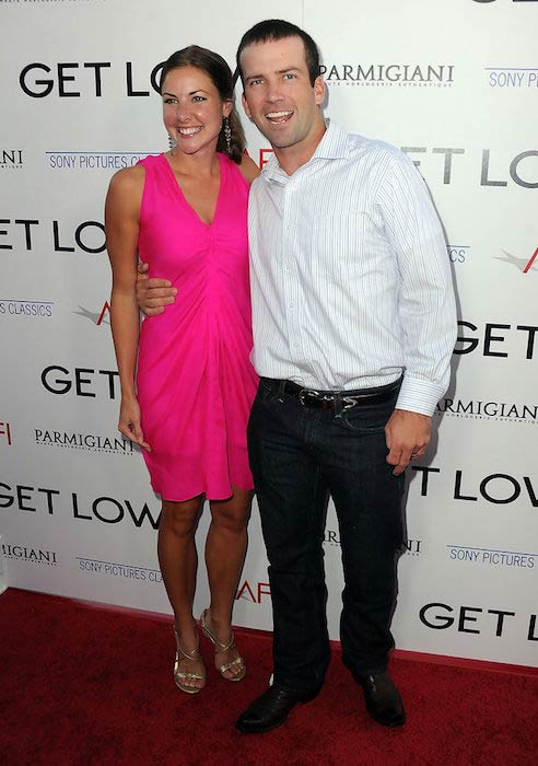 "Lucas Black and wife Maggie O'Brien at ""Get Low"" premiere on July 27, 2010"