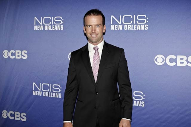 "Lucas Black at the ""NCIS: New Orleans"" screening on September 17, 2014"