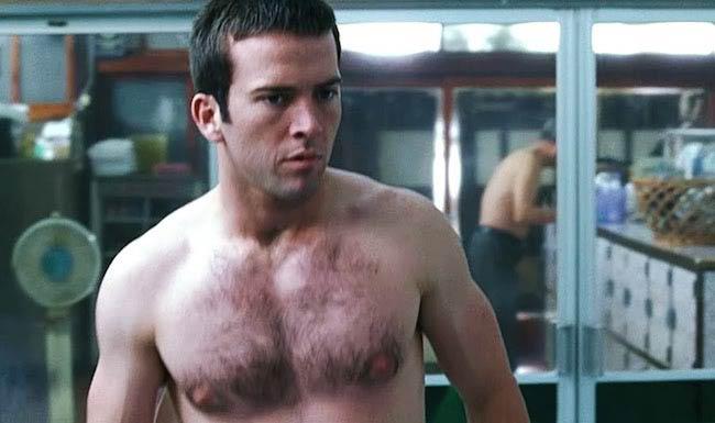 Lucas Black shirtless body