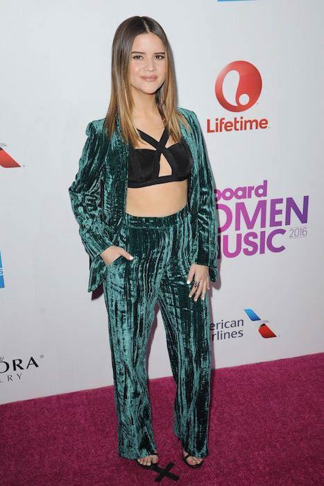 Maren Morris at Billboard Women in Music Event on December 9, 2016
