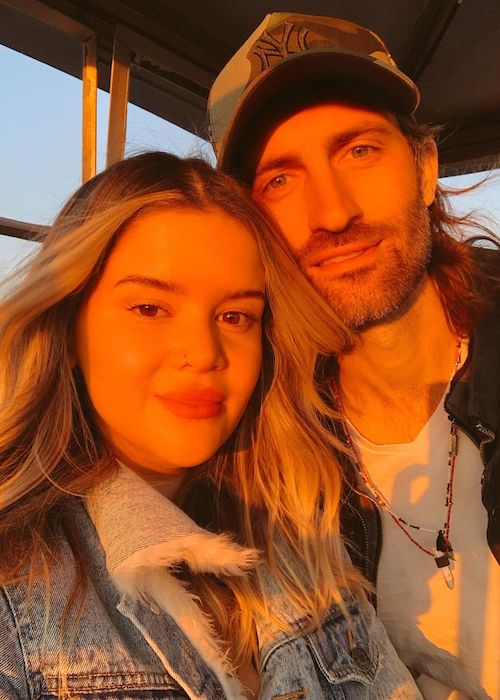 Maren Morris with husband Ryan Hurd in November 2020