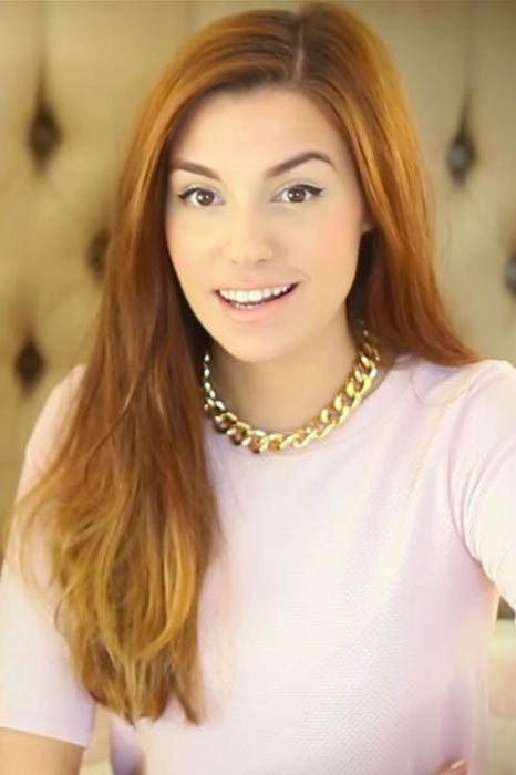 Marzia Bisognin in a picture posted on her blog in 2014