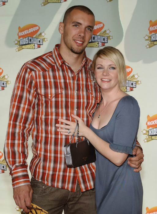 Melissa Hart and husband Mark Wilkerson at the 20th Annual Kids' Choice Awards in March 2007