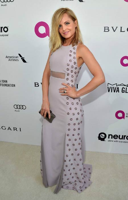 Mena Suvari at the Elton John AIDS Foundation's Oscar Viewing Party in February 2016