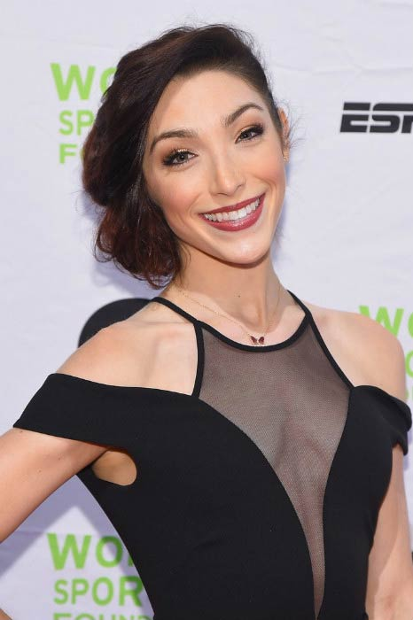 Meryl Davis at the 36th Annual Salute to Women In Sports in October 2015