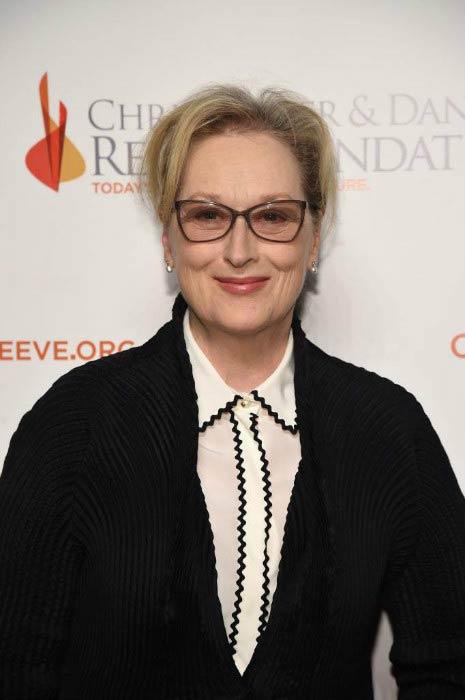 Meryl Streep at the Christopher & Dana Reeve Foundation event in November 2016