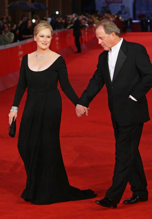 Meryl Streep and Don Gummer at the 4th International Rome Film Festival's Awards Ceremony in October 2009