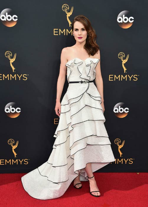 Michelle Dockery at the Primetime Emmy Awards 2016