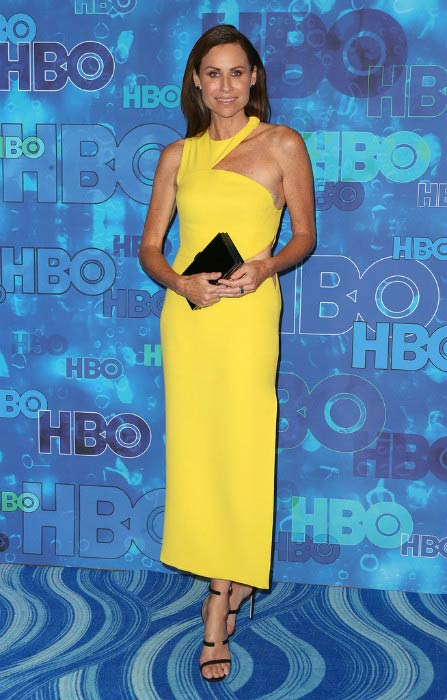 Minnie Driver at the HBO's Post Emmy Awards Reception in September 2016