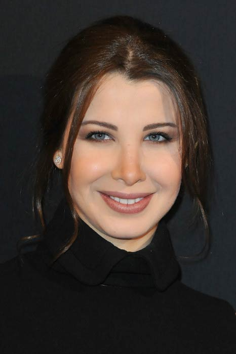 Nancy Ajram at the Paris Haute Couture Fashion Week Spring/Summer in January 2011