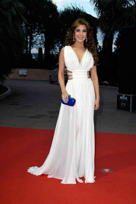 Nancy Ajram at the World Music Awards in May 2014 in Monaco