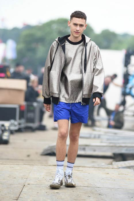 Olly Alexander at the Glastonbury Festival in June 2016
