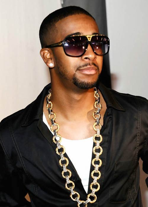 Omarion at the Mercedes-Benz Fashion Week Spring in September 2010