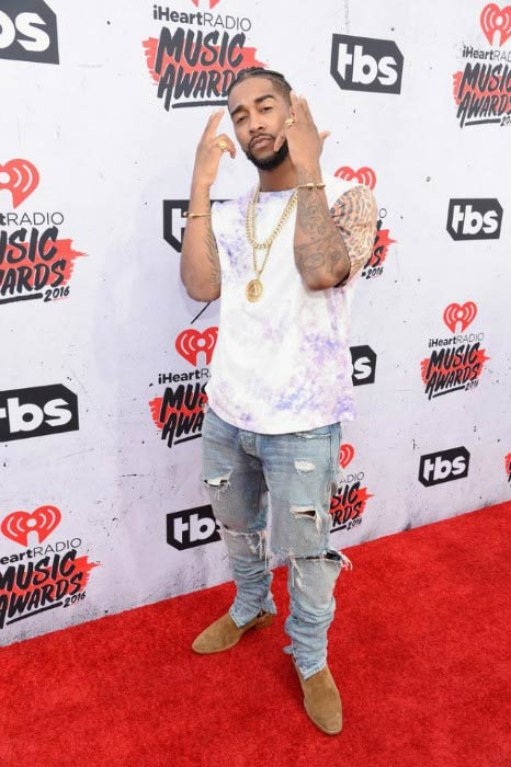 Omarion at the iHeartRadio Music Awards 2016