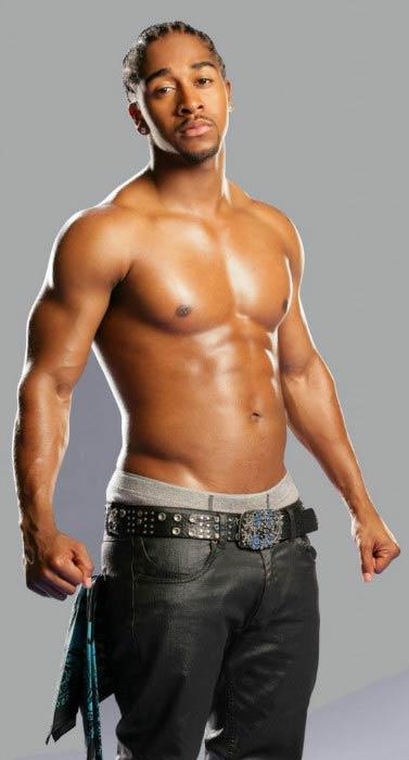 Omarion shirtless body