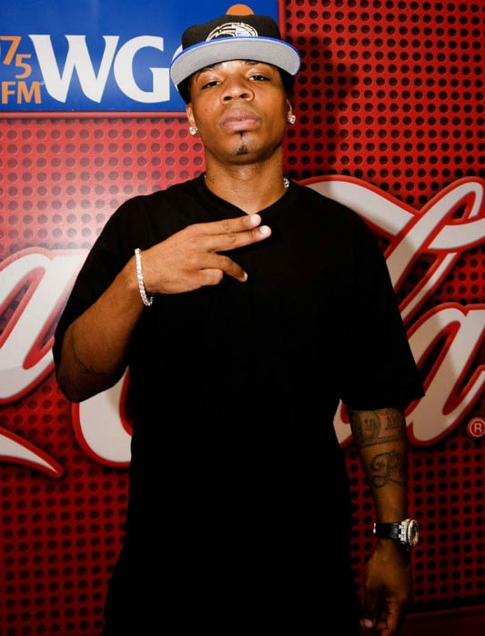 Plies at the WGCI Coca Cola Lounge in 2010